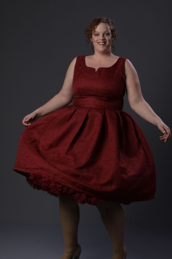 plus size Lindy Bop 50's swing dress via Succubus