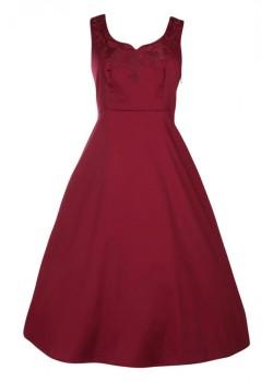 Plus Size dolly & Dotty Veronica Bow 50's dress