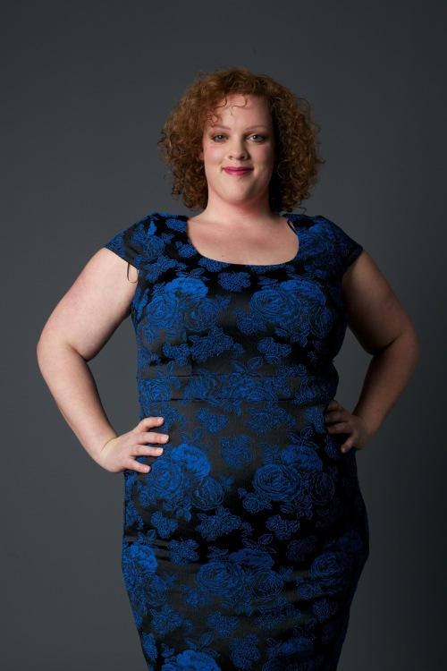 plus size floral dress van studio 8