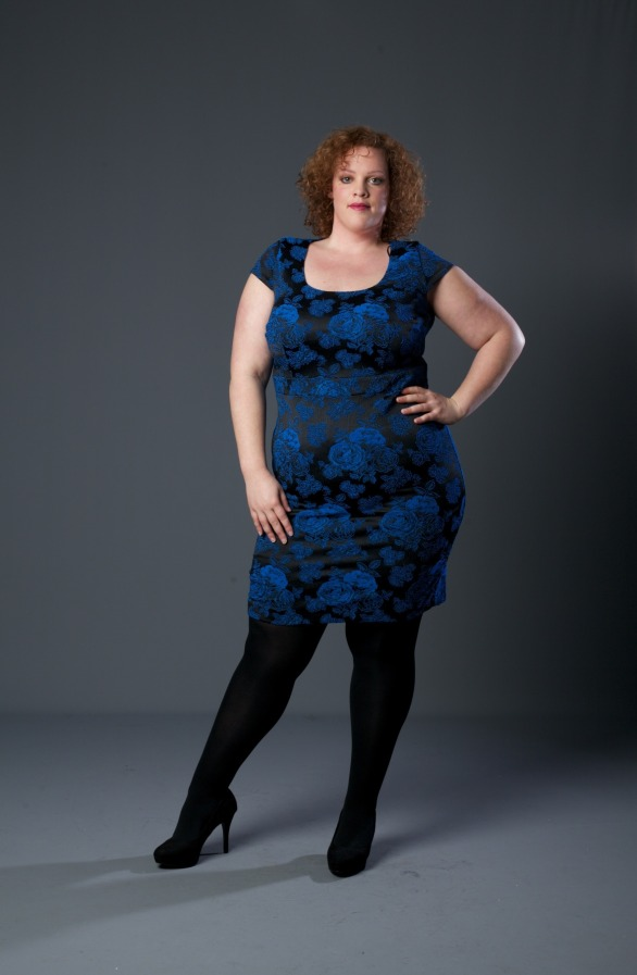plus size dress van studio 8