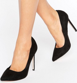 playfull wide fit heels asos
