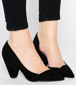 Sapphire Wide fit heels van Asos