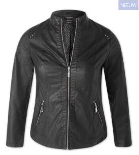 plus szie biker jacket van C&A
