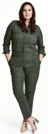 plus size jumpsuit h&m