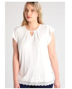 plus size witte top van Anna Field Curvy