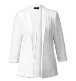 plus size witte blazer van c&a