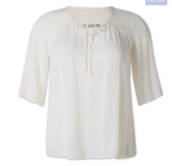 witte plus size top c&a